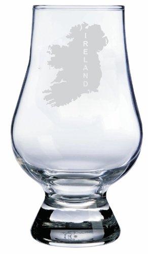Ireland Themed Glencairn Whisky Glass
