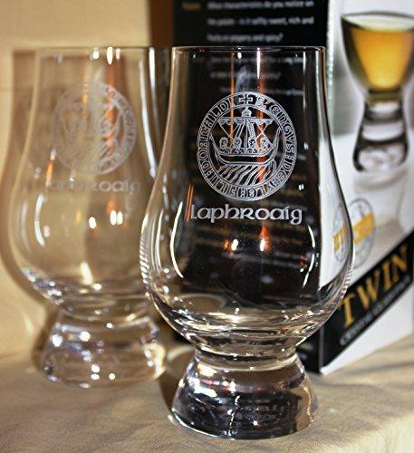 Laphroaig Islay Crest Twin Pack Glencairn Whisky Tasting Glasses