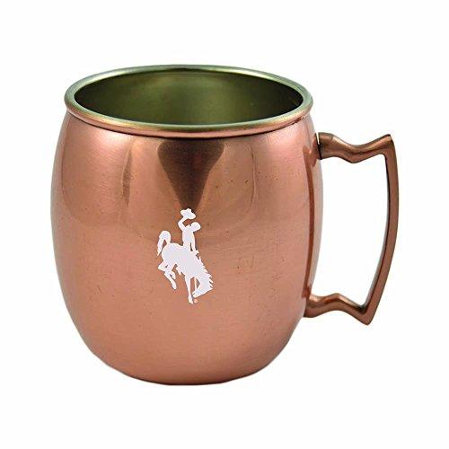University of Wyoming-16 oz Copper Mug