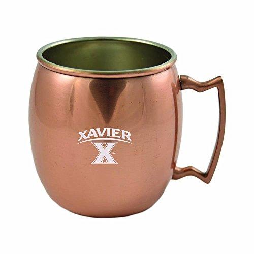 Xavier University-16 oz Copper Mug