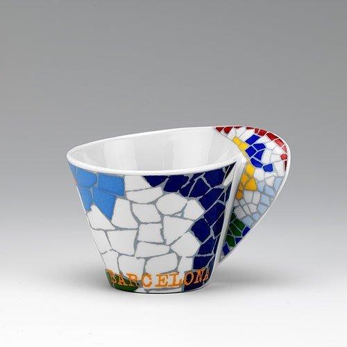Oval Coffee Gaudi Mug