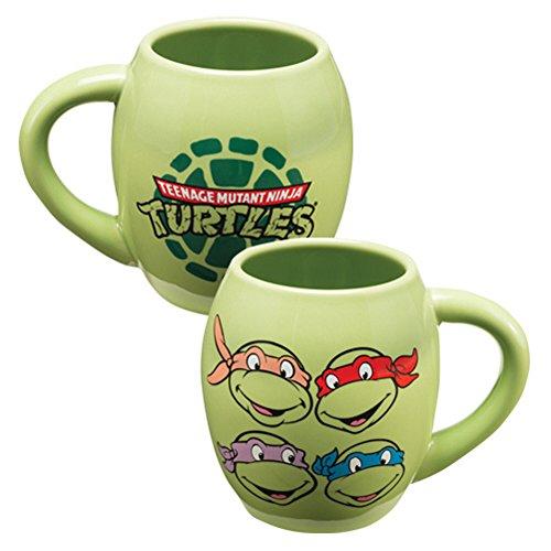 Teenage Mutant Ninja Turtles Oval Coffee Mug