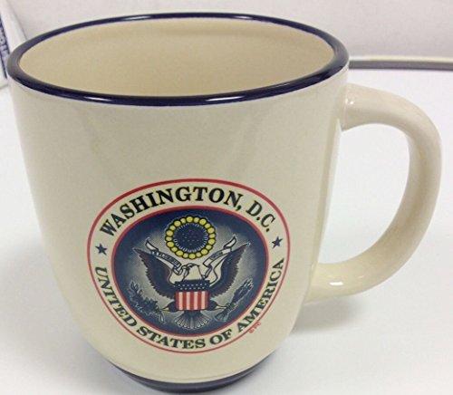 USA Great Seal Oval Coffee Mug