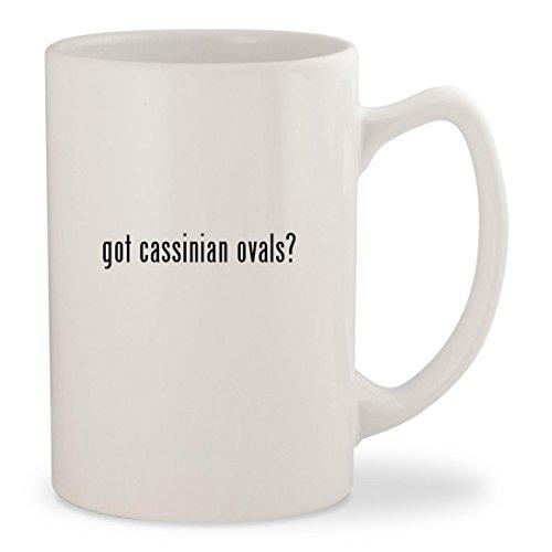got cassinian ovals - White 14oz Ceramic Statesman Coffee Mug Cup