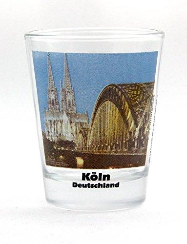 Cologne Köln Germany City Landmarks Photo Shot Glass