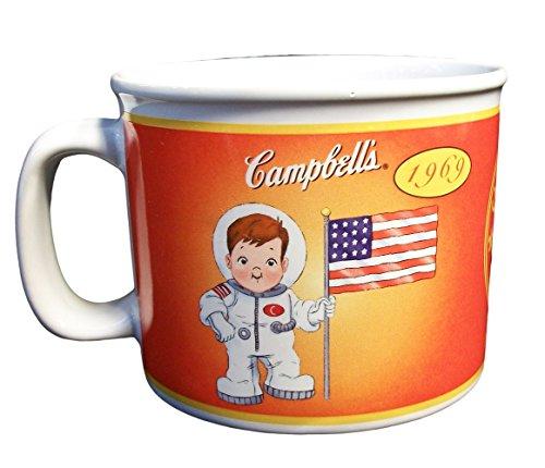 Campbells Soup Kids Soup MUG Campbell Soup 1904-2004 100 Year Commemorative 1969 Astronaut 100 Year Commemorative Mug