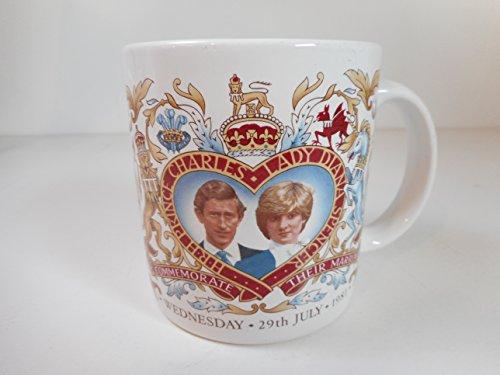 GHC John Buck HRH Prince Charles Lady Diana July 1981 Marriage Commemorative Mug