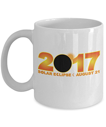 Solar Eclipse Coffee Mug - August 21 2017 Total Eclipse Commemorative Mug