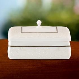 Lenox Opal Innocence Jewelry Box