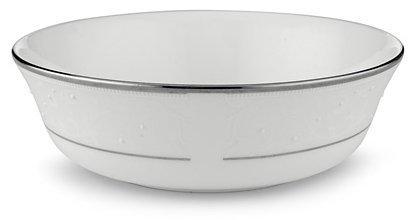 Lenox Opal Innocence Platinum Banded Bone China All Purpose Bowl by Lenox