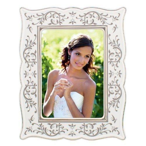 Opal Innocence Silver 5 x 7 Frame by Lenox