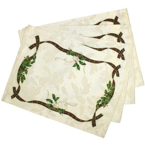 Lenox Holiday Nouveau Christmas Fabric Place Mat