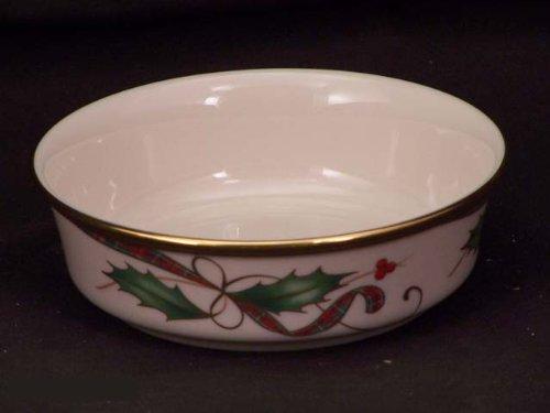 Lenox Holiday Nouveau Gold Fruit Bowls