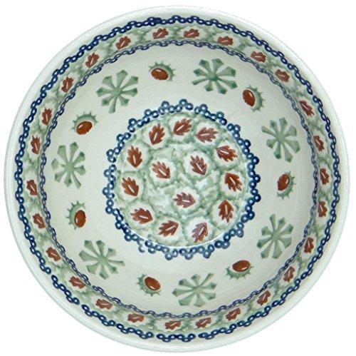 SilverrushStyle - Polish Pottery Soup Bowl- Mistletoe Collection