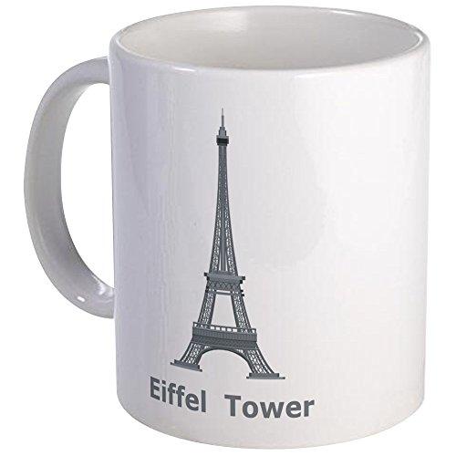 CafePress - Eiffel Tower Mug - Unique Coffee Mug Coffee Cup