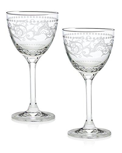 Zelda Fitzgerald New Yorker Cocktail Glass Gift Box Set of 2