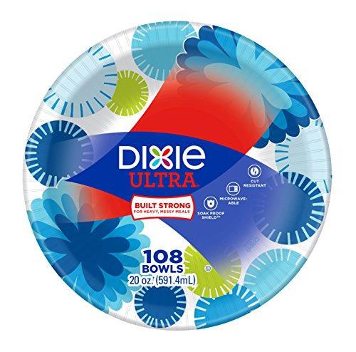 Dixie Ultra Paper Bowls 20 oz 108 Count