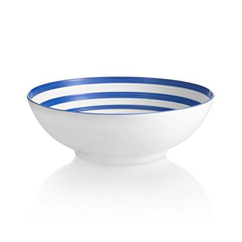 JL Coquet Hemisphere Marine Blue SoupCereal Bowl