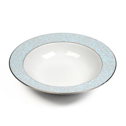 Mikasa Parchment Blue Soup Bowl