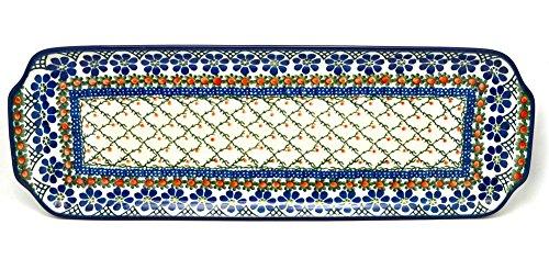 Polish Pottery Tray - Appetizer - 16 - Primrose