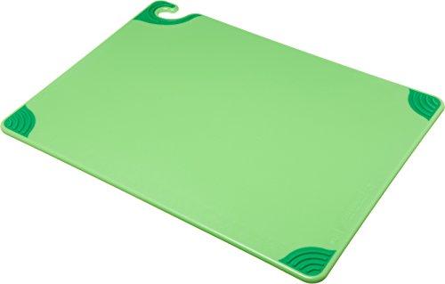 San Jamar Standard Size Cutting Board 18 x 24 Green