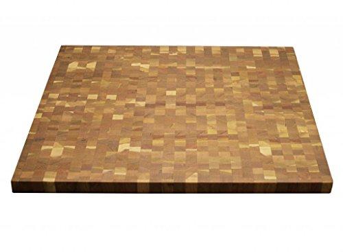 Kobi Blocks Cherry End Grain Butcher Block Wood Cutting Board 8 X 16 X 3
