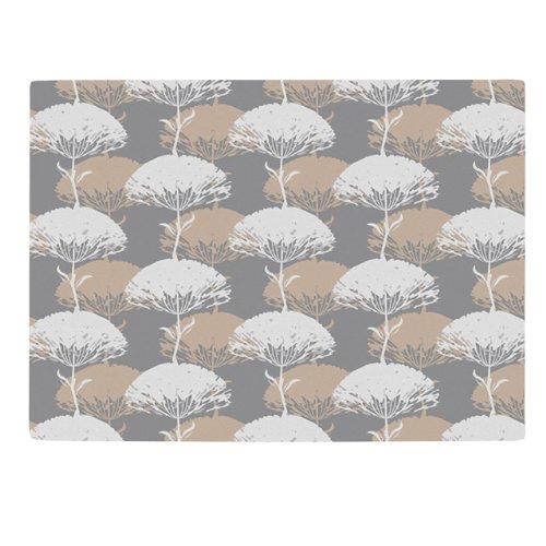 Kess InHouse Julia Grifol Charming Tree Cutting Board 115 by 1575-Inch