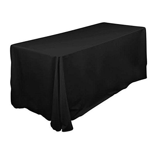90x120- Black Banquet Tradeshow TablecoversCase pack of 8 pcs
