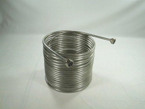 38 x 50 Jockey Box Stainless Steel Coil - Left Hand