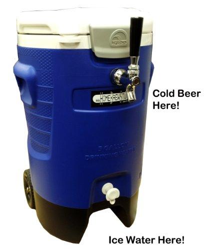 Portable Refreshment Device PRD - Single Tap Sport Draft Beer Jockey Box
