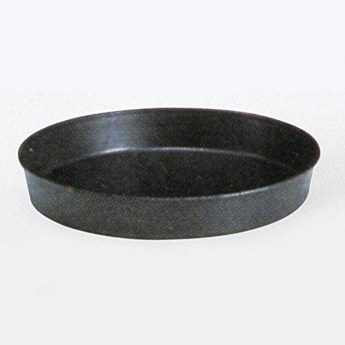 Ottinetti Blue Steel Deep Round Baking Pan 18cm7 Gray