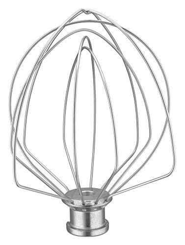 KitchenAid KSMF6WW Wire Whip - Fits Bowl-Lift GLASS Bowls 6-Quart models KF26 F-Series