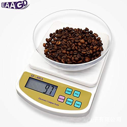 Fiesta EAAGD Precision electronic scales kitchen household mini kitchen scale 01g mini baking scale gkg lb ozg oz ct tl 2000g-01g