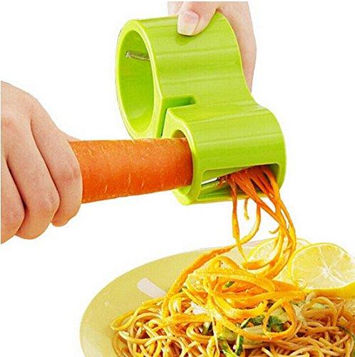 Newest Kitchen multifunctional Vegetable Spiral Slicer Cutter Vegetable Spiralizer Grater Spiralizer for Carrot Cucumber Courgette