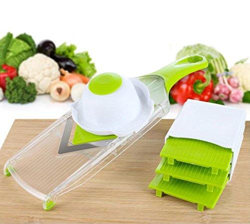 Vegetable Chopper GoFriend Multi-functional Vegetable Slicer Fruit Dicer Chopper Kitchen Cutter Tool 4-IN-1