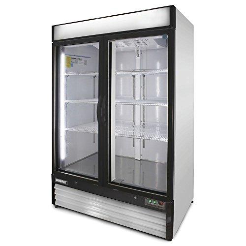 HUBERT 48 cu ft 2 Door Merchandiser  Freezer - 54L x 31 1516W x 79 12H