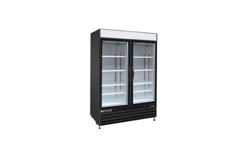 Maxximum Glass Door Merchandiser Freezer X-Series Model Number Mxm2-48Fb