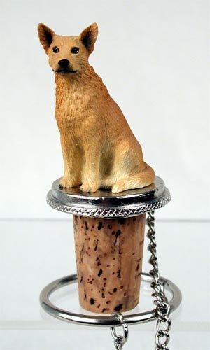 Conversation Concepts Australian Cattle Red Dog Bottle Stopper Set of 6