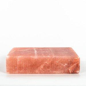 HIMALAYAN SALT PLATE 8 x 8 x 2 Square- - Guaranteed Authentic