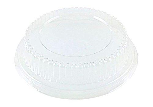 Clear Plastic Dome Lid For 4 78 Aluminum Foil Tart Pan 50PK - Fits Item 2200
