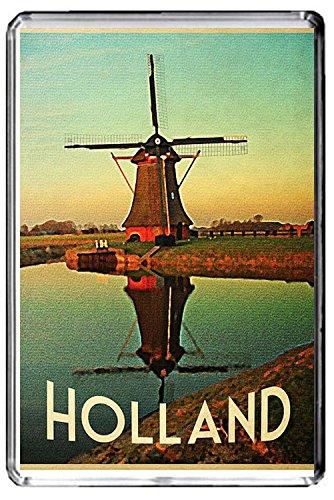 A341 HOLLAND FRIDGE MAGNET NETHERLANDS TRAVEL VINTAGE REFRIGERATOR MAGNET
