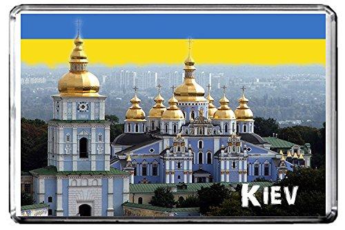 C299 KIEV UKRAINE FRIDGE MAGNET UKRAINE TRAVEL VINTAGE REFRIGERATOR MAGNET