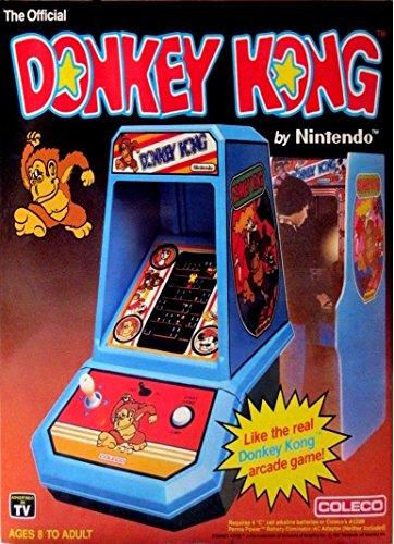 DONKEY KONG ART VINTAGE 2 x 3 Fridge MAGNET Table Top Arcade Game COLECO SEGA Refrigerator nostalgic retro