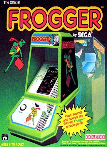 FROGGER ART VINTAGE 2 x 3 Fridge MAGNET Table Top Arcade Game COLECO SEGA Refrigerator nostalgic retro