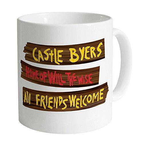 Funny Mugs Coffee Mugs Inspired By Stranger Things - Castle Byers Mug