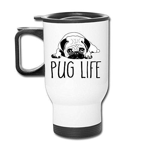 Pug Life Custom Beautiful Coffee Mug Travel Thermos Blank Mug Business Mugs