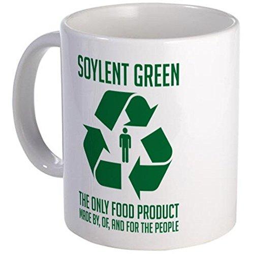 11 ounce Mug - Soylent Green Mug - S White