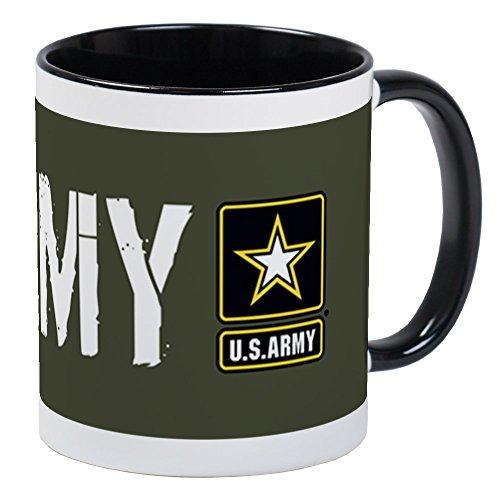 CafePress - US Army Army Military Green Mug - Unique Coffee Mug Coffee Cup