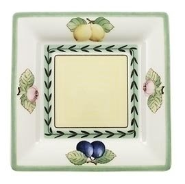 Villeroy Boch French Garden 6-12-Inch Square Tea Saucer