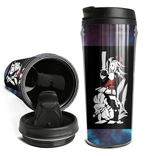 Coffee Cup Travel Mug Cute Tea Mugs Final-Fantasy-Bravely-Default- Travel Coffee Mugs for Outdoor